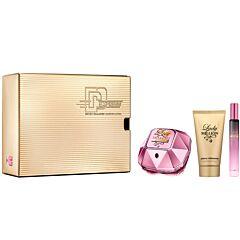Комплект Paco Rabanne Lady Million Empire Edp50Ml+Body Lotion75Ml+Travel Spray10Ml - Douglas