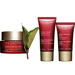 Комплект Clarins My anti-wrinkle and replenished skin essentials - Douglas