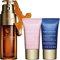 Комплект Clarins Double Serum & Multi-Active Anti-aging routine - Douglas