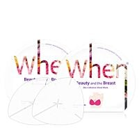 When Beauty and the Breast Mask (2 pcs - 1 set) (with sleeve case)