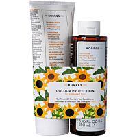 Комплект KORRES Sunflower & Mountain Tea - Conditioner & Shampoo - Douglas