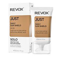 REVOX 77 Just Daily Sun Shield Uva+Uvb Filters Spf 50+Hyaluronic Acid  - Douglas