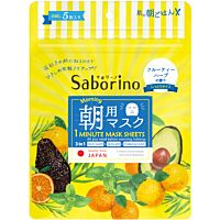 Saborino Morning Facial Sheet Mask (5Sheet)