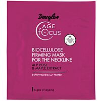 Douglas Age FOCUS Biocellulose firming mask for the neckline - Douglas