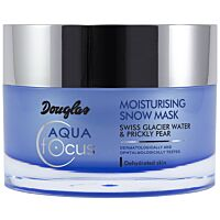 Douglas Aqua Focus Moisturising Snow Mask  - Douglas