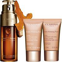 Комплект Clarins Double Serum & Extra-Firming Anti-aging routine - Douglas
