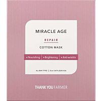 THANK YOU FARMER Miracle Age Repair Cotton Mask - Douglas