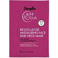 Douglas Age FOCUS Biocellulose anti-aging face and neck mask