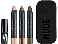 Комплект Nudestix Mini Nude Metallic Eye Kit