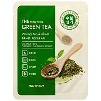 Tony Moly The Chok Chok Green Tea Watery Mask Sheet - Douglas