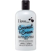 I love...Coconut & Cream Bath & Shower Crème