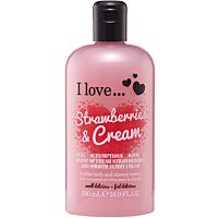 I love... Strawberries & Cream Bath & Shower Crème
