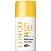 Clinique SPF50 Mineral Sunscreen Fluid For Face  - Douglas