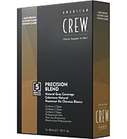 AMERICAN CREW Precision Blend Natural Gray Coverage Medium Natural 4-5 - Douglas
