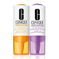 Clinique Fresh Pressed Clinical Daily and Overnight Boosters with 2 Vit C & 2 A - Douglas